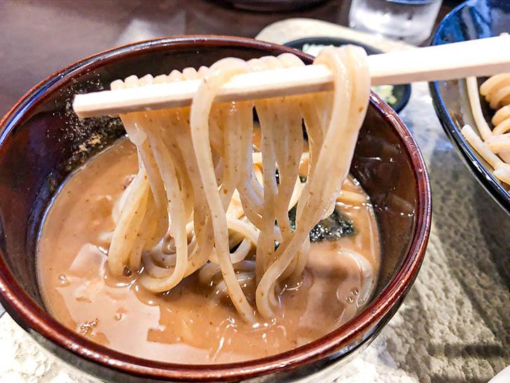 自家製麺 つけ麺桜 つけ汁とつけ麺
