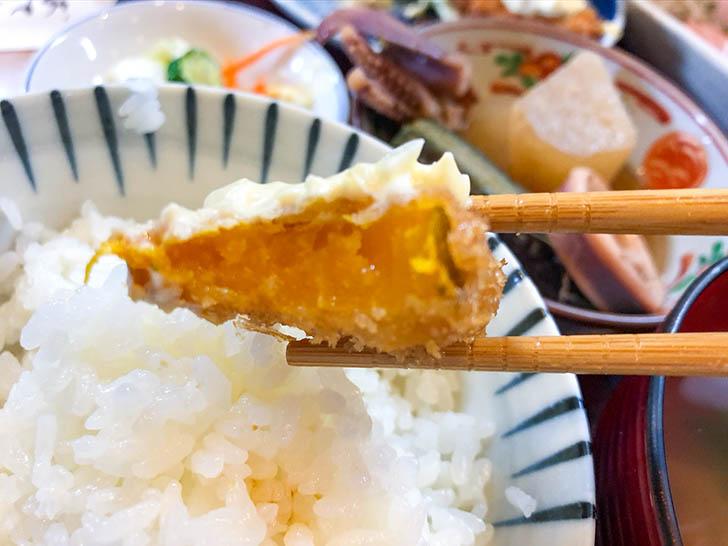 かず味 かぼちゃの揚げ物2
