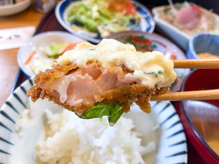 かず味 鮭の揚げ物