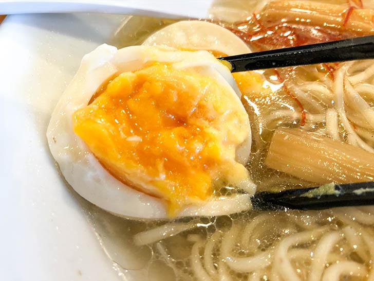麺匠 金色堂 煮卵