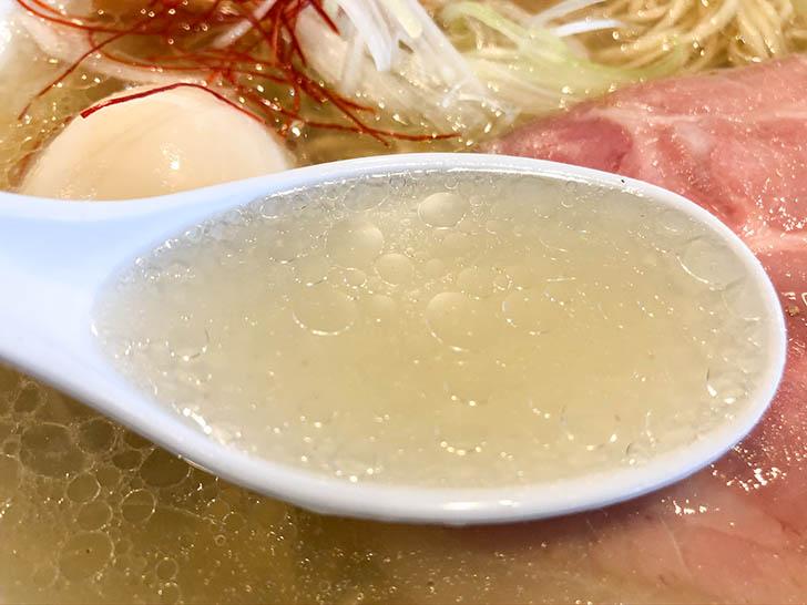麺匠 金色堂 あっさり塩スープ