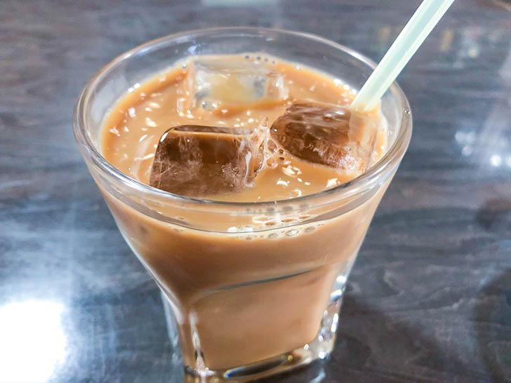 味処 わっぱ 食後のアイスコーヒー