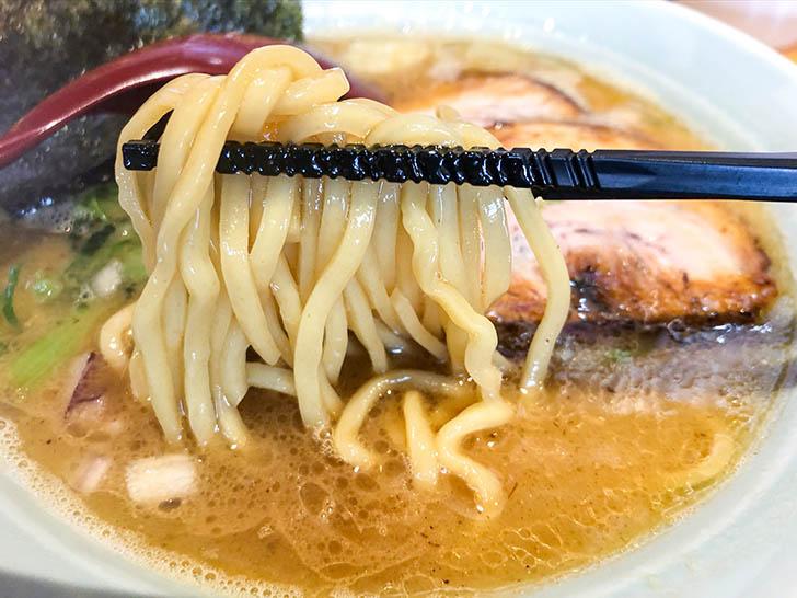 らぁ麺 大和 もちっと中太麺