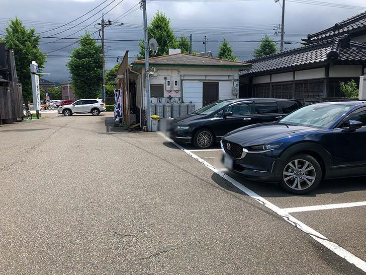 らぁ麺 大和 駐車場2