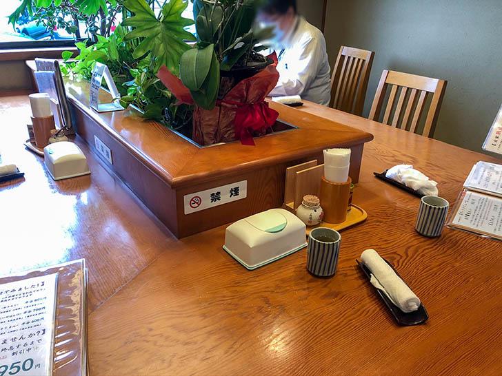蕎麦処 大藪 カウンター席