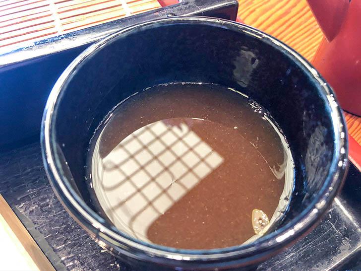 蕎麦処 大藪 美味しいお出汁と蕎麦湯
