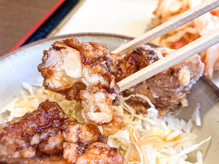 信州そば 小木曽製粉所 ジューシーな鶏肉