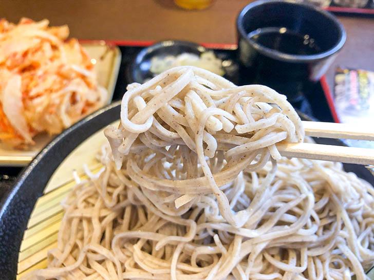信州そば 小木曽製粉所 プリっとした麺