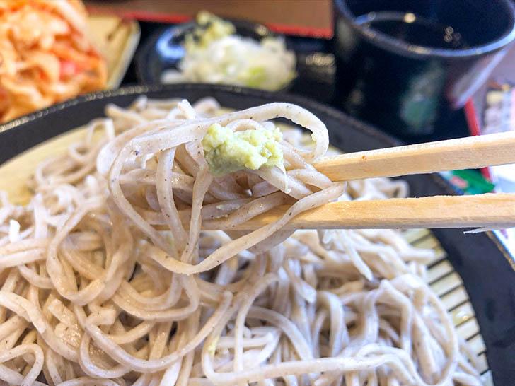 信州そば 小木曽製粉所 蕎麦とわさび