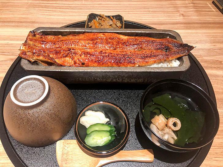うなぎ4代目菊川 クロスゲート金沢店 蒲焼き一本重