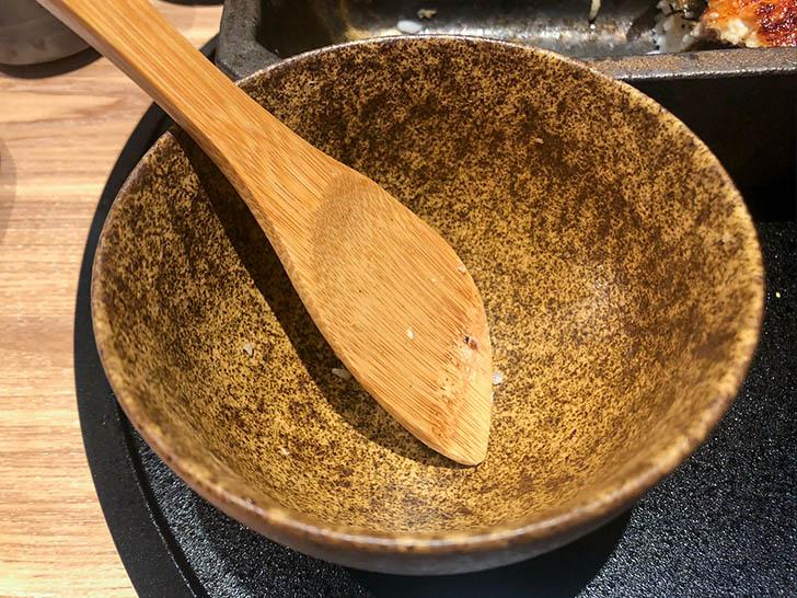 うなぎ4代目菊川 クロスゲート金沢店 お茶碗あり