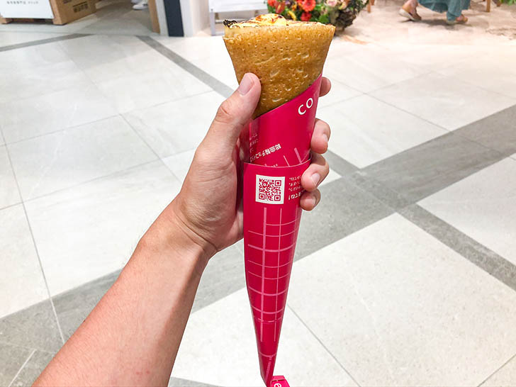 ComCrepe(コムクレープ) クロスゲート金沢店 大きさ