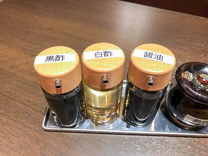 鼎's by JIN DIN ROU クロスゲート金沢店 小籠包の調味料