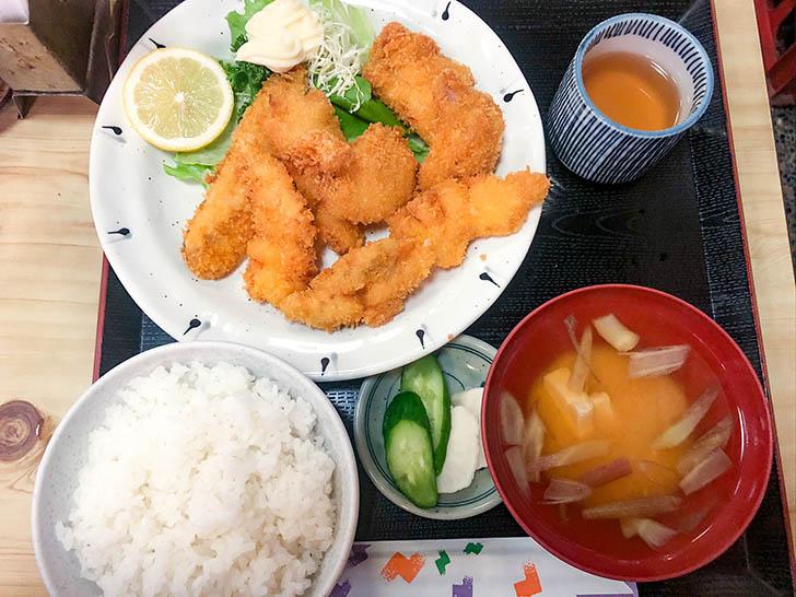 ゑび善 ミックスフライ定食
