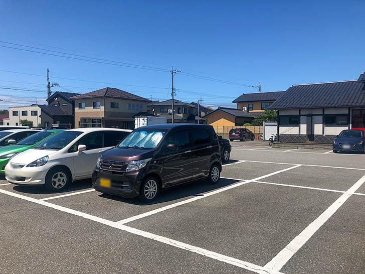 みんなdeステーキ 駐車場