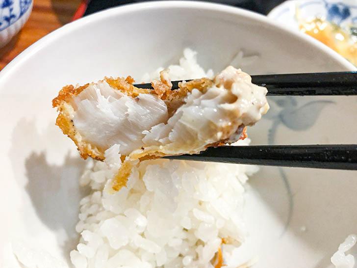割烹 むら井 鱈のフライ