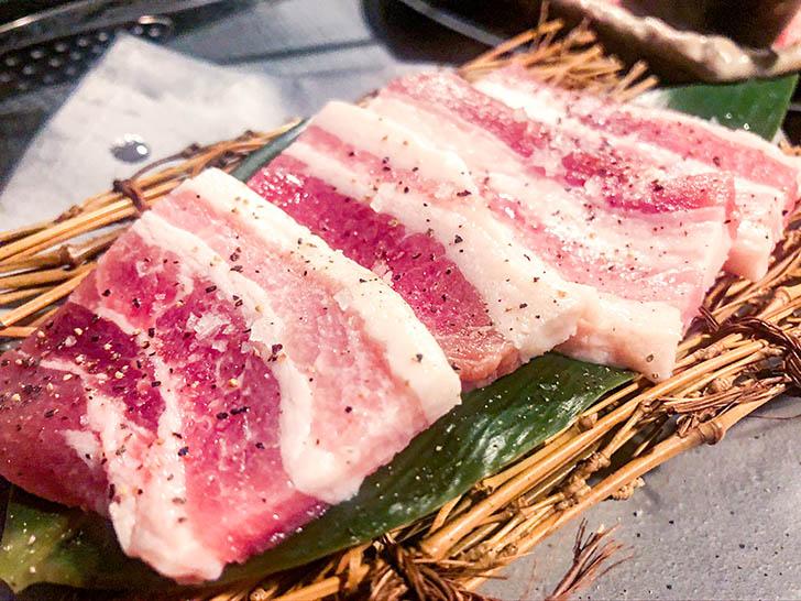焼肉たむら 金沢店 豚バラ