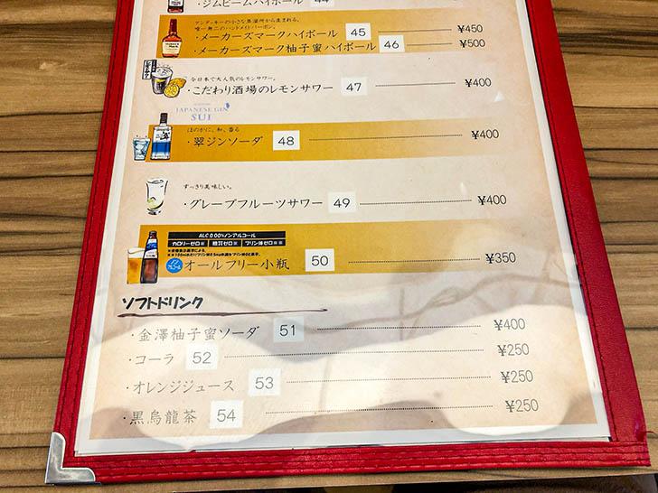 キッチン二郎 メニュー8
