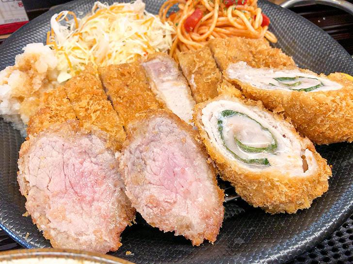キッチン二郎 カツ三種類