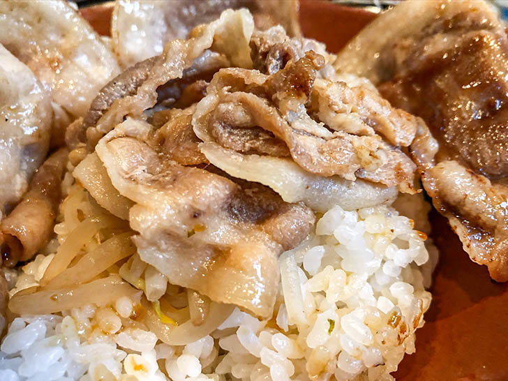 oink oink 甘味もあって美味しい