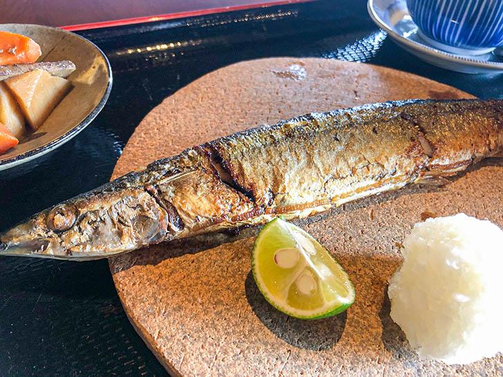 原始焼 金澤ととと 秋刀魚
