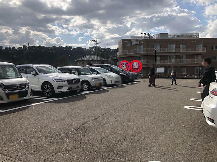 こがね製麵所 田上店 駐車場2