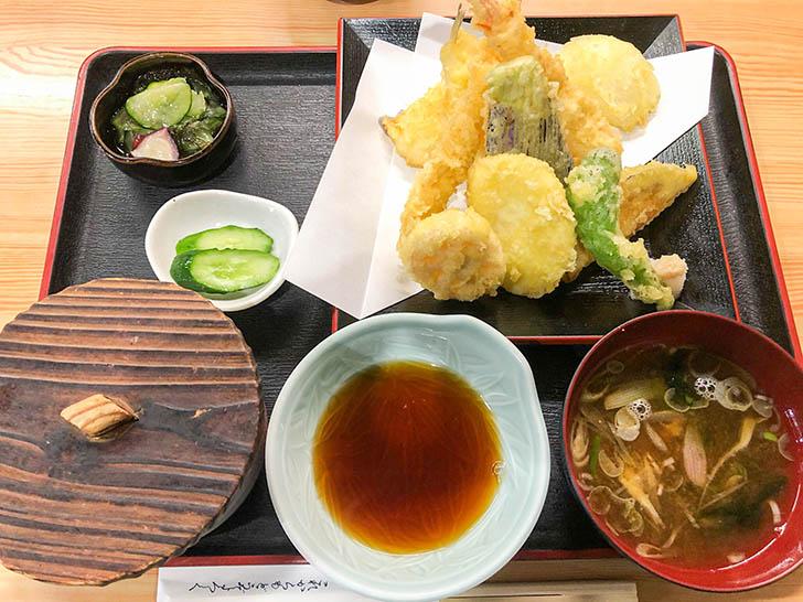 天きち 天ぷら定食