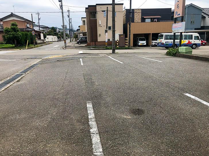 天きち 駐車場