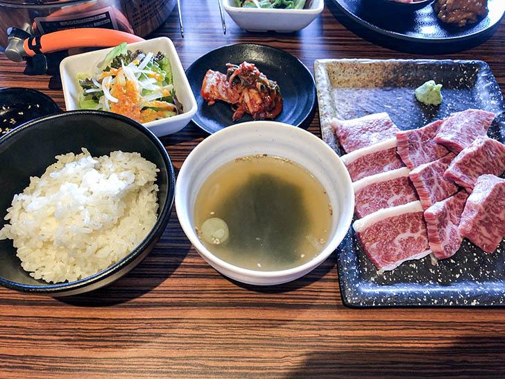 焼肉 岳 和牛焼肉定食