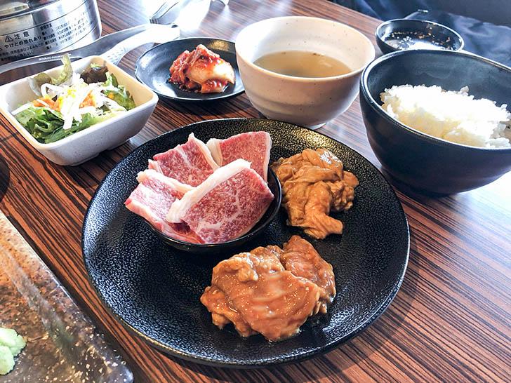 焼肉 岳 焼肉定食B