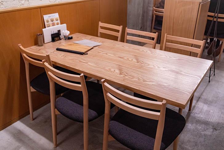 EARHT BURGER(アースバーガー) テーブル席