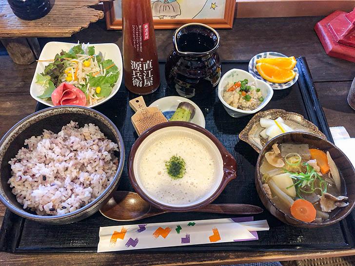加賀丸芋麦とろ 陽菜 加賀丸いも麦とろ定食