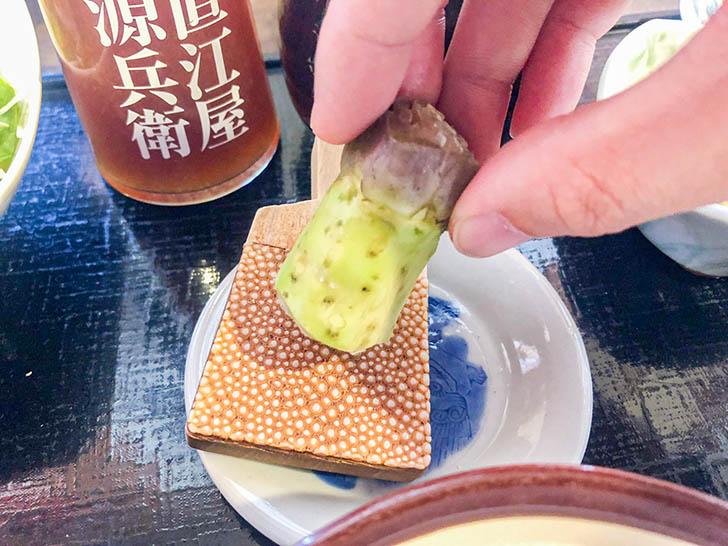 加賀丸芋麦とろ 陽菜 わさび