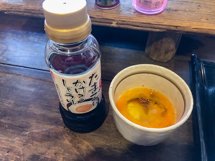 加賀丸芋麦とろ 陽菜 たまご用の醤油