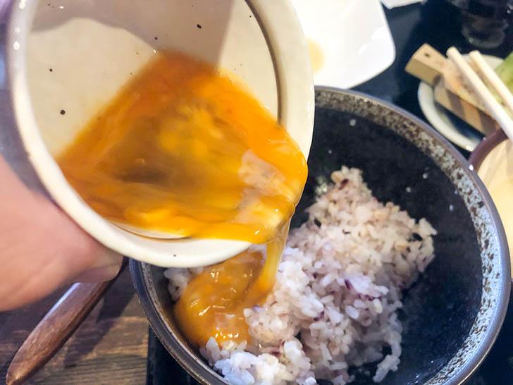 加賀丸芋麦とろ 陽菜 卵かけご飯