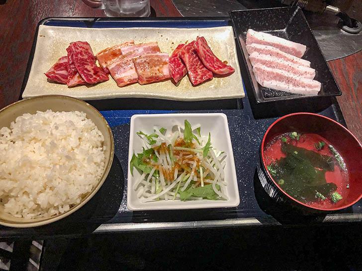 焼肉 蔵 野々市店 カルビ定食