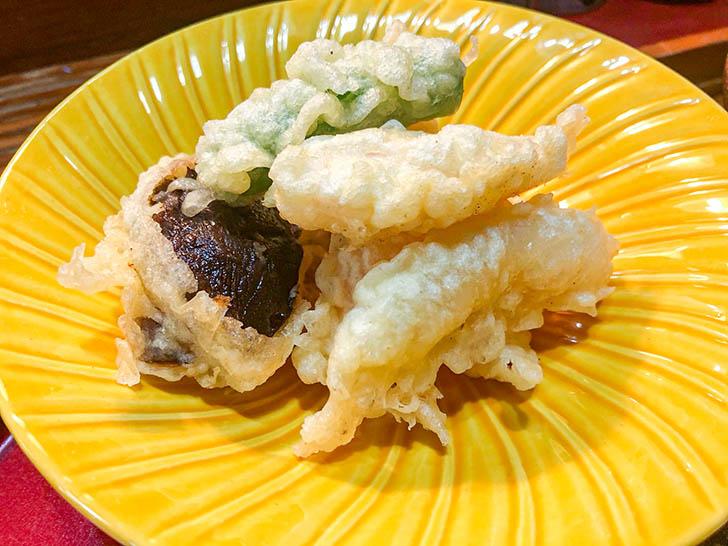 金水寿司 甘えびの天ぷら
