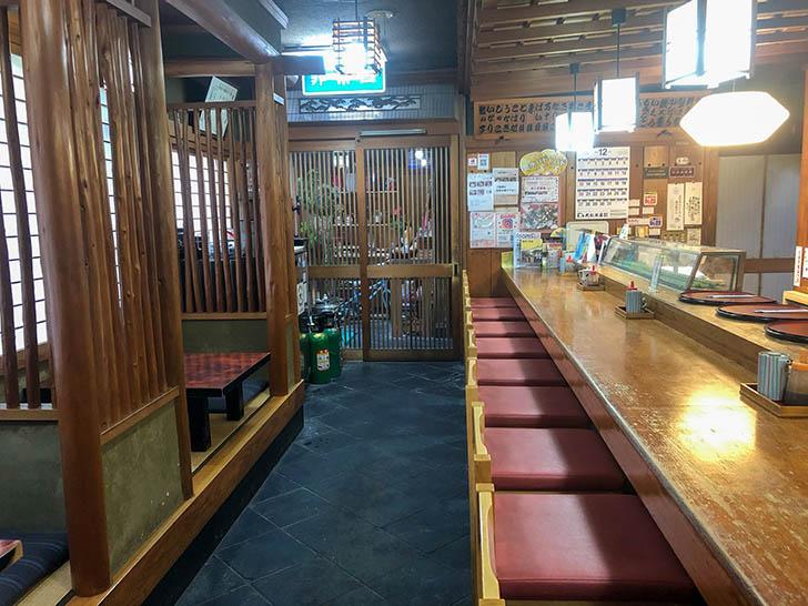 金水寿司 カウンター席
