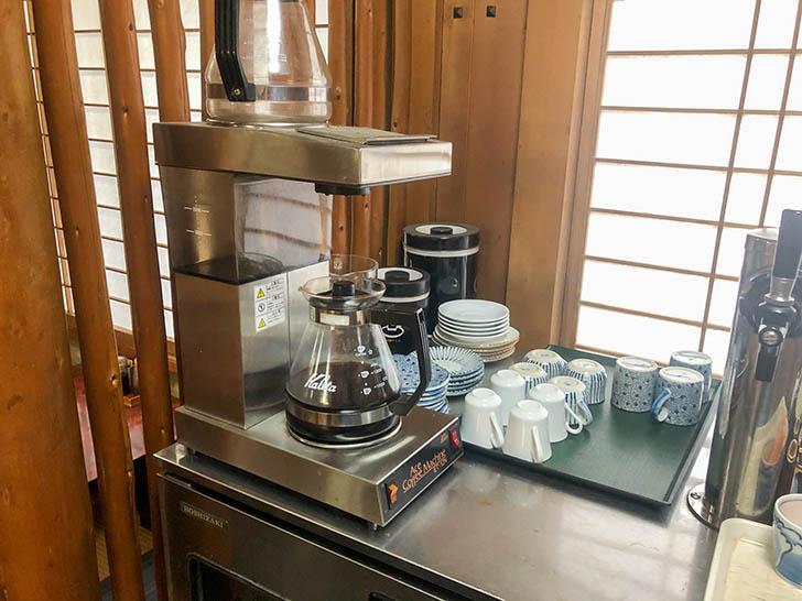 金水寿司 セルフコーヒー