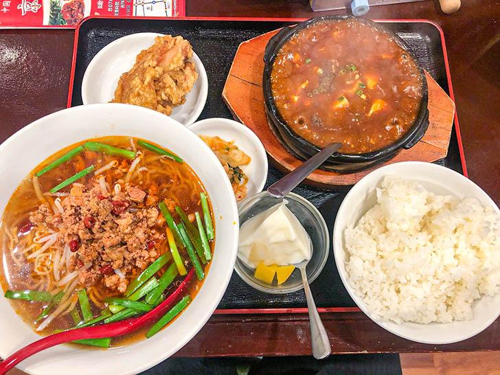 京華 麻婆豆腐定食
