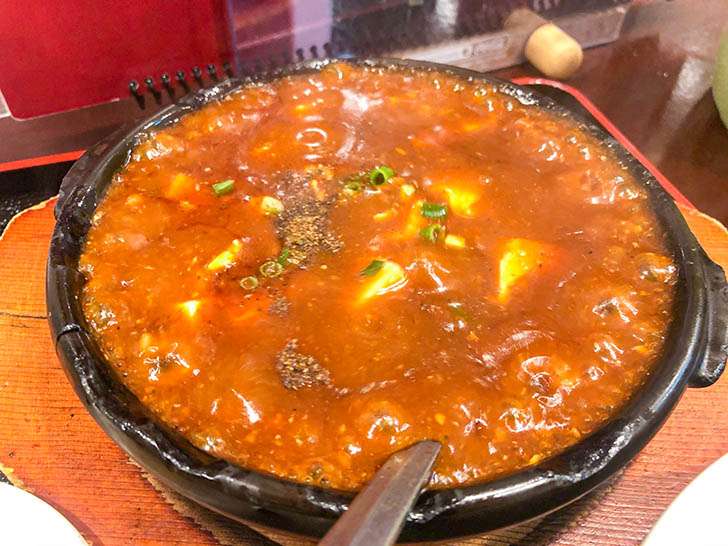 京華 麻婆豆腐