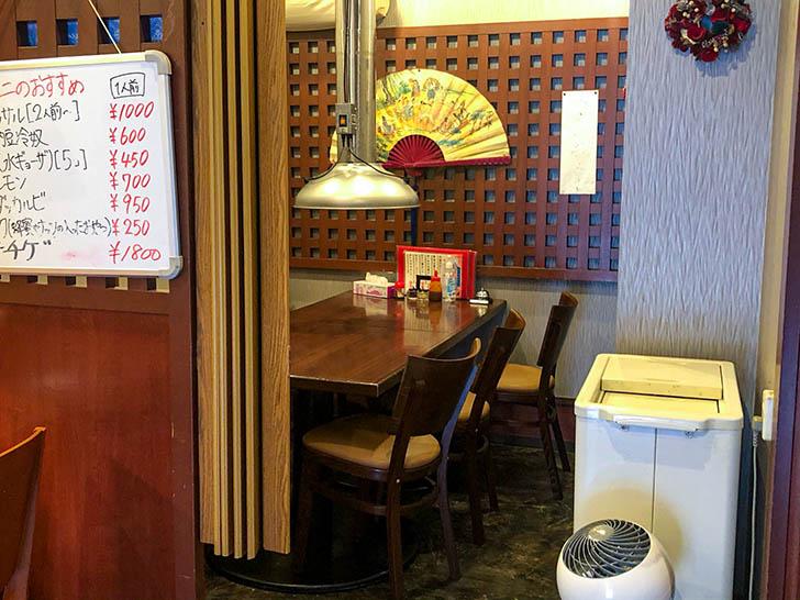 明洞(ミョンドン) テーブル席2
