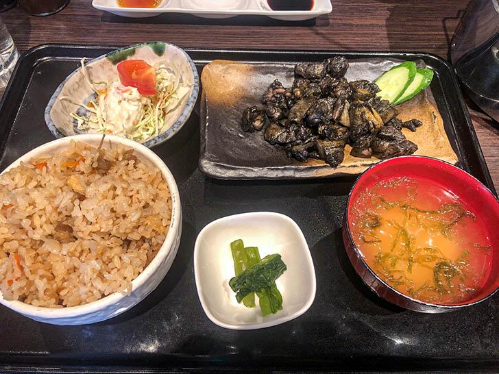 九州地鶏七輪焼 才谷屋 炭火鶏 もも焼き定食