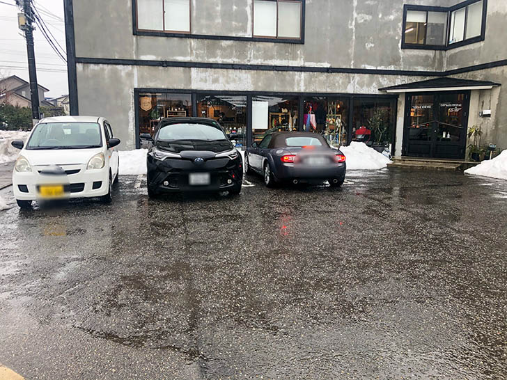 アイレットキャンテーン 駐車場