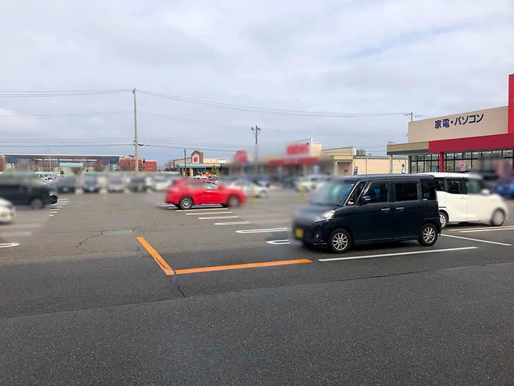 野々市横丁さんちゃん 駐車場