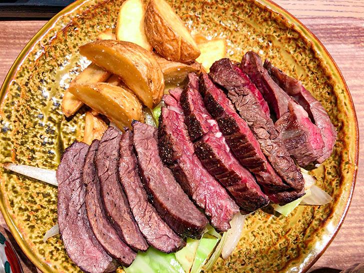 手創り旬菜と和食 せん たっぷりのステーキ