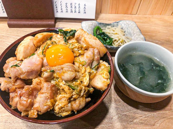焼肉バンライ とりミックス親子丼