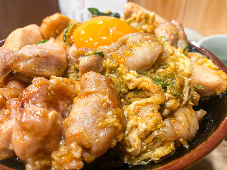 焼肉バンライ たっぷりの鶏肉