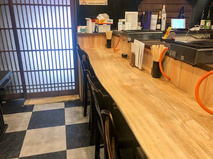 焼肉バンライ テーブル席
