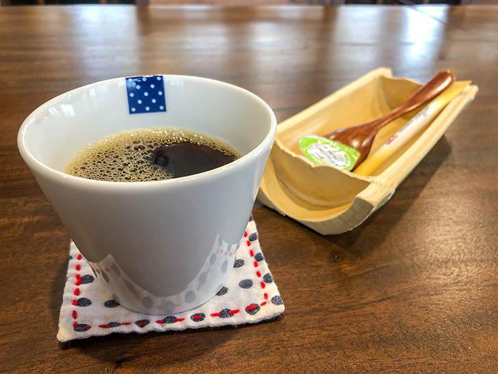 旅館かのや 食後のコーヒー